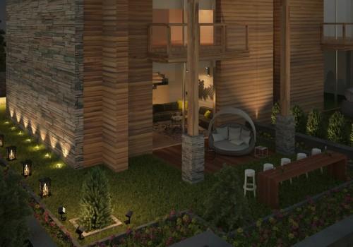 Interior Residential Tilal Faqra Chalet B2